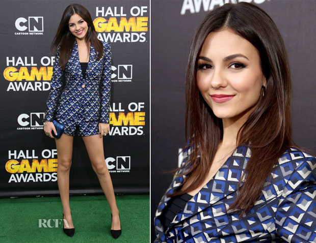 Victoria Justice In Ted Baker London - Cartoon Network's Hall Of Game Awards