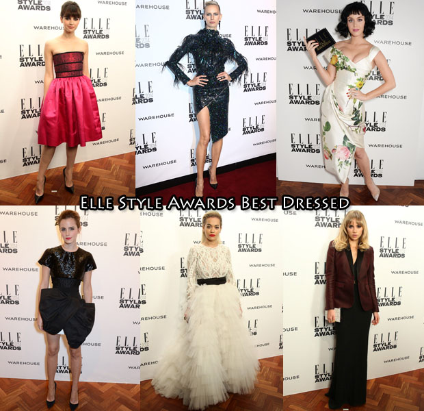 Who Was Your Best Dressed At The Elle Style Awards 2014