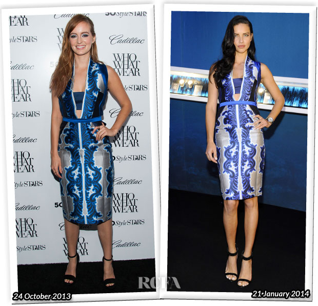 Who Wore Bibhu Mohapatra Better Ahna O'Reilly or Adriana Lima