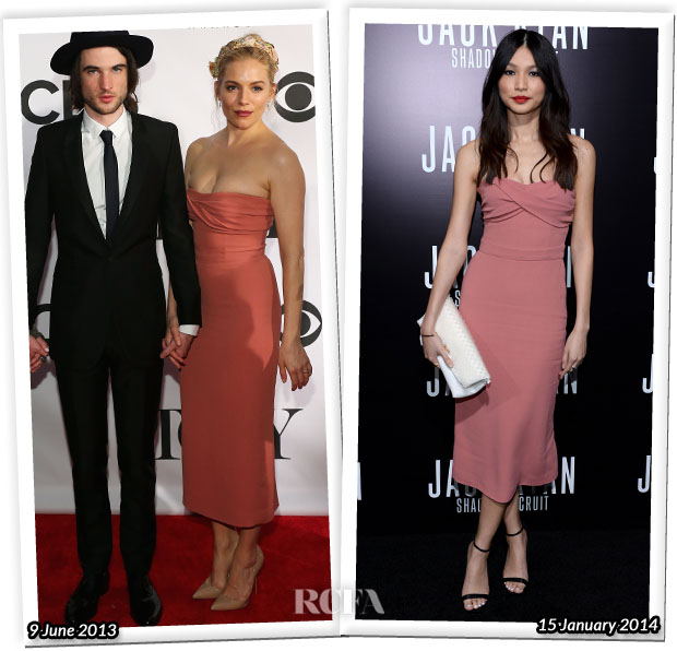 Who Wore Burberry Prorsum Better Sienna Miller or Gemma Chan