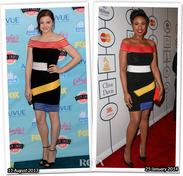 Who Wore Christopher Kane Better Chloe Moretz or Jennifer Hudson