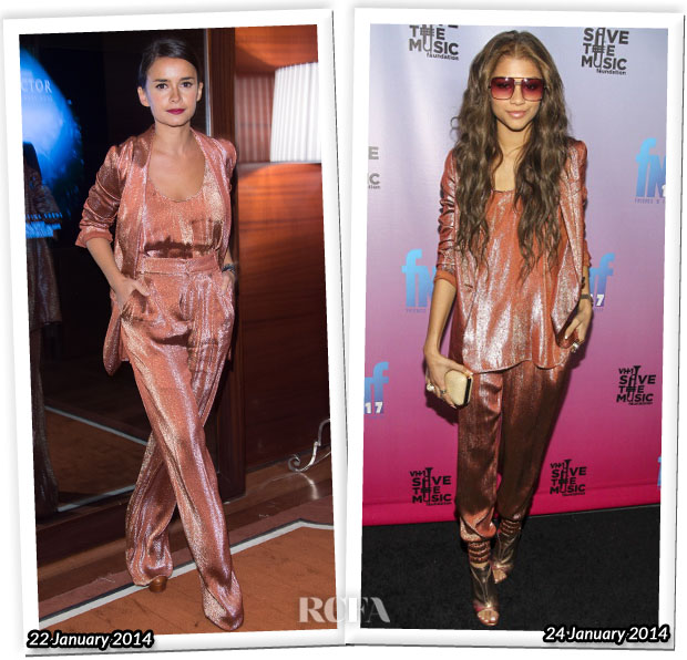 Who Wore Gucci Better Miroslava Duma or Zendaya Coleman
