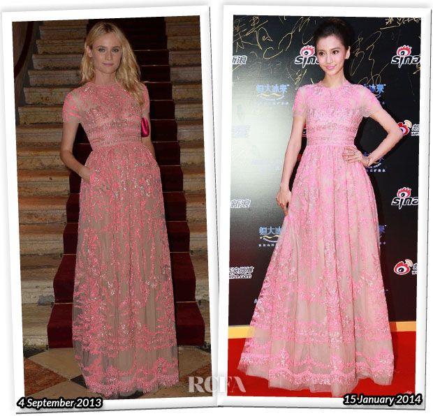 Who Wore Valentino Better Diane Kruger or Angelababy