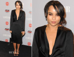 Zoe Kravitz In Calvin Klein Collection - Vanity Fair and FIAT Celebration Of 'Young Hollywood'