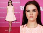 Zoey Deutch In Christian Dior - 'Vampire Academy' Sydney Premiere
