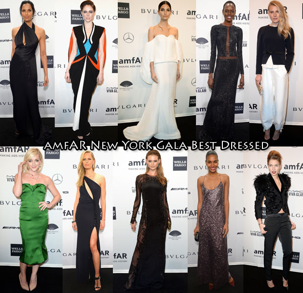 amfAR New York Gala Best Dressed