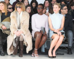 Lupita Nyong'o and Naomi Watts  in Calvin Klein Collection