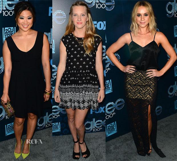 'Glee' 100th Episode Celebration Red Carpet Roundup