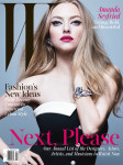 Amanda Seyfried For W Magazine April 2014