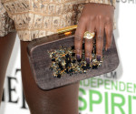 Lupita Nyong'o' Devi Kroell clutch