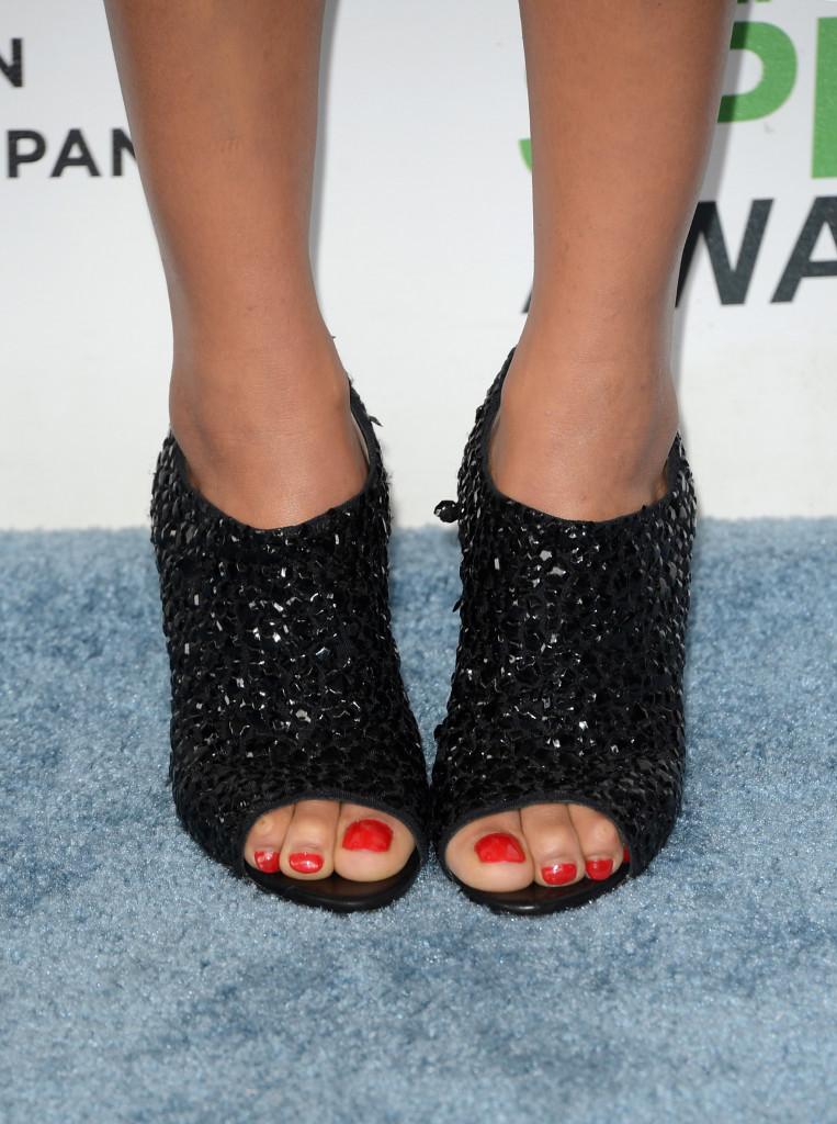 Zoe Kravitz' booties