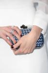 Sarah Paulson's Bottega Veneta clutch