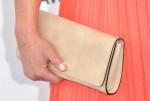 Elisabeth Rohm's Longchamp clutch