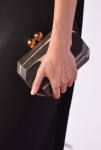Lake Bell's Stella McCartney clutch