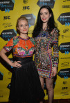 Kristen Bell in Naeem Khan and Krysten Ritter in Emilio Pucci