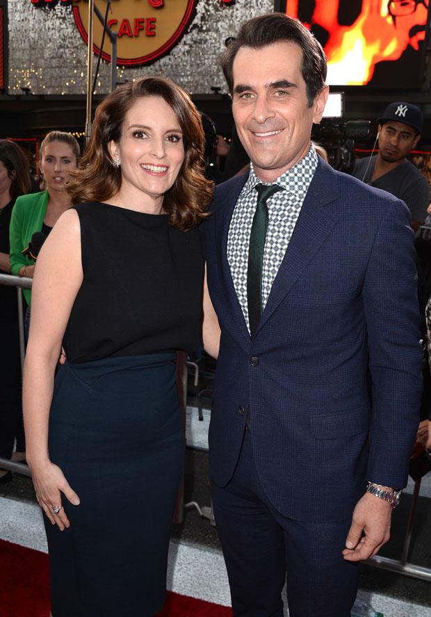 Tina Fey in Antonio Berardi