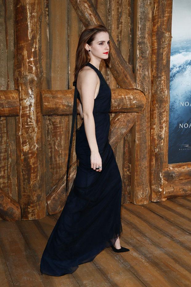 Emma Watson in Wes Gordon