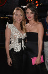 Scarlett Johansson in Armani Privé and Cobie Smulders in Stella McCartney