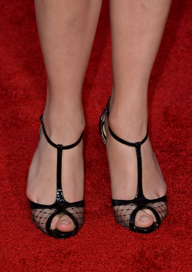 Emily VanCamp's Christian Louboutin shoes