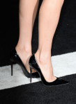 Maggie Q's Christian Louboutin heels