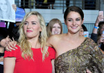 Kate Winslet in SAFiYAA and Shailene Woodley in Elie Saab Couture