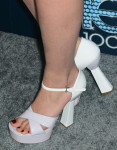 Dianna's Miu Miu Mary Jane platform sandals