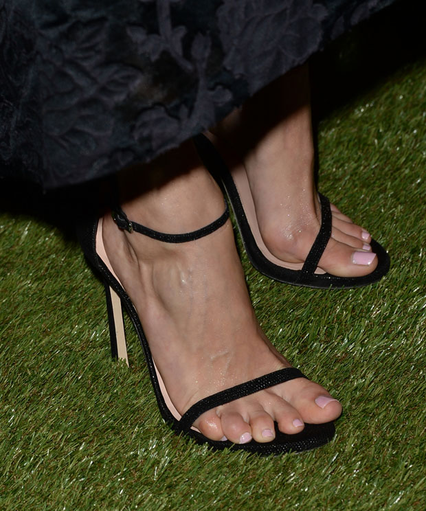 Emmy Rossum's sandals