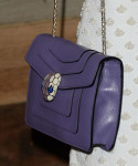 Camilla Belle's Bulgari bag