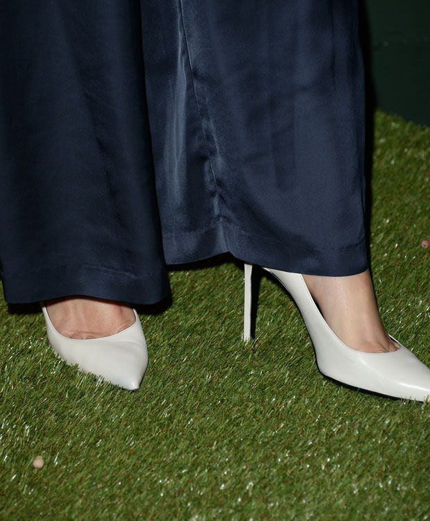 Amber Valletta's pumps