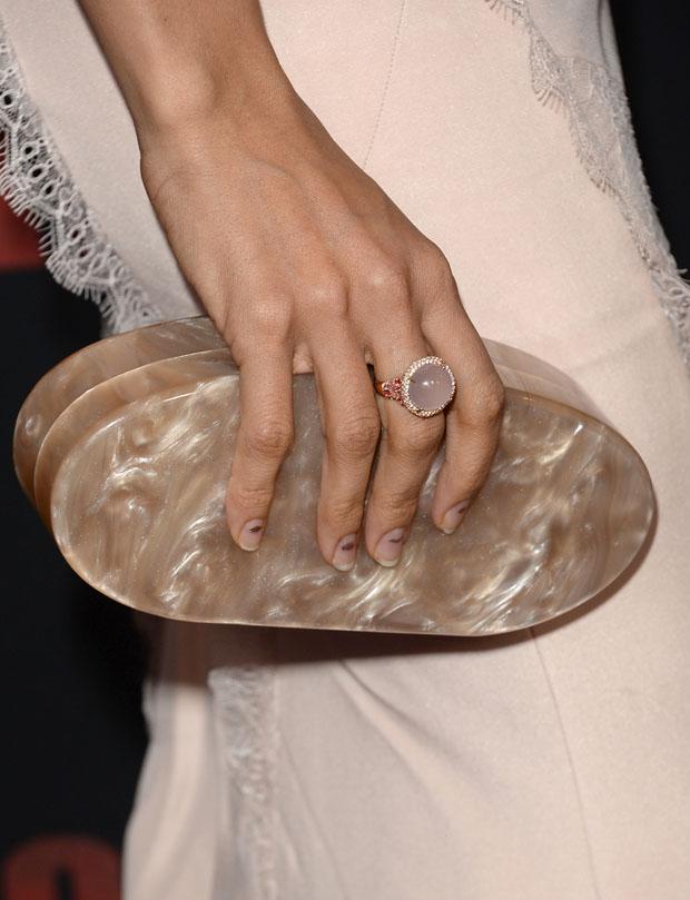 Rosario Dawson's Edie Parker clutch