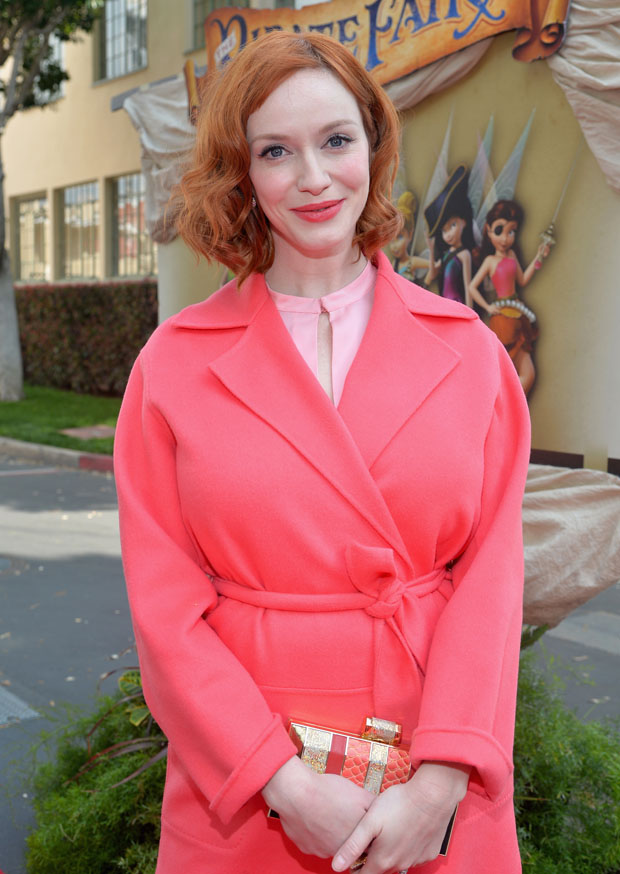 Christina Hendricks in Max Mara