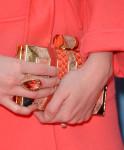 Christina Hendricks' Halston Heritage clutch