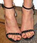 Nina Dobrev's Aperlai sandals