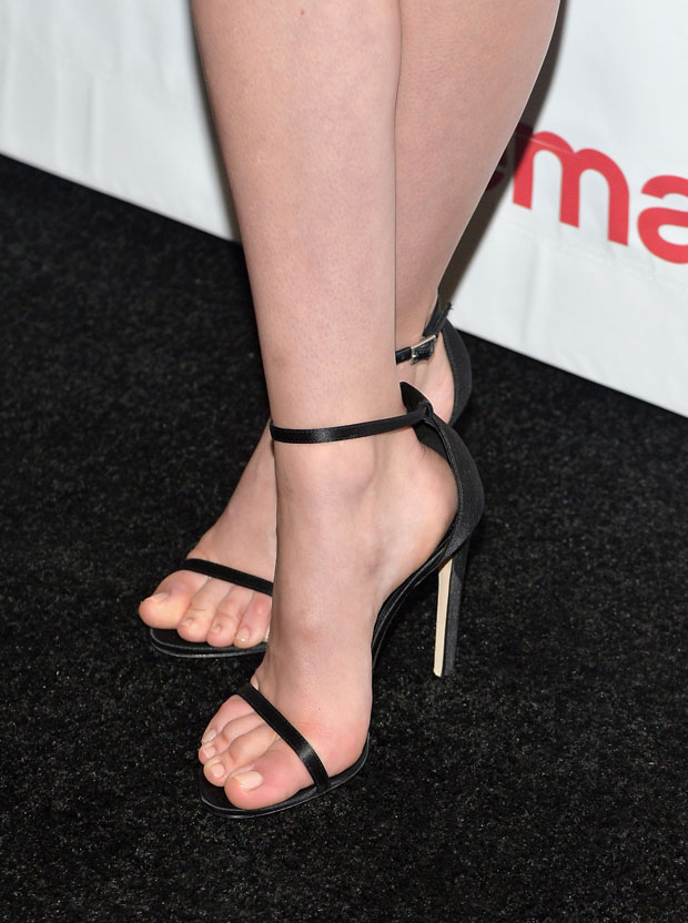 Nicola Peltz's Stuart Weitzman shoes