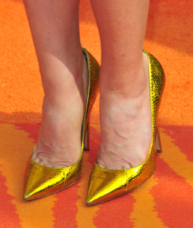 Jayma Mays' Jimmy Choo pumps