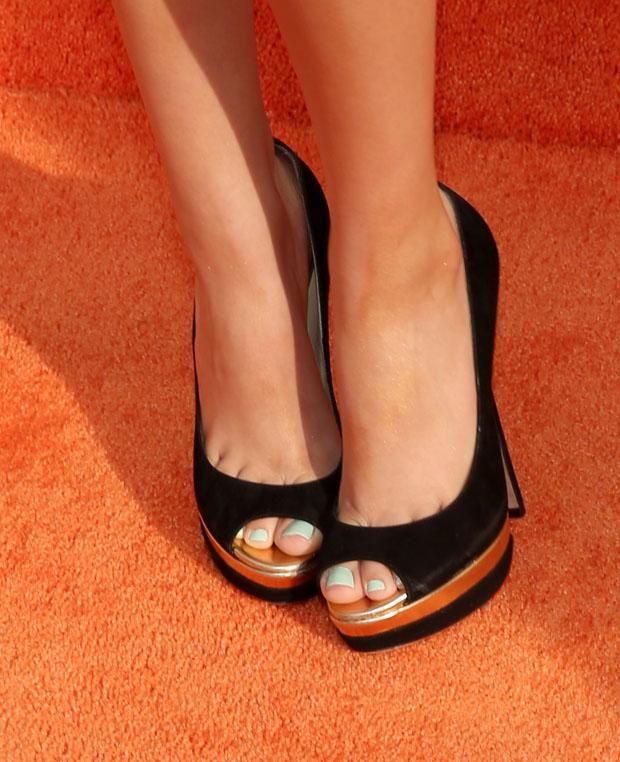 Victoria Justice's Jimmy Choo heels