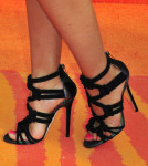 Tia Mowry's Jimmy Choo shoes