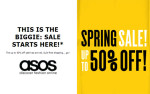 ASOS Spring Sale: Get Up To 50% Off
