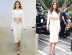 Alessandra Ambrosio In Calvin Klein Collection - Extra