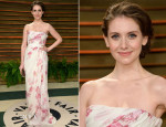 Alison Brie In Giambattista Valli - Vanity Fair Oscar Party 2014
