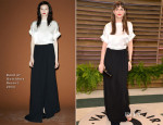 Amanda Peet In Band of Outsiders - Vanity Fair Oscar Party 2014