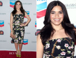 America Ferrera In Dolce & Gabbana - The Cesar Chavez Foundation's 2014 Legacy Awards Dinner