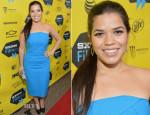 America Ferrera In Roland Mouret - 'Cesar Chavez' SXSW Premiere