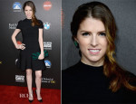 Anna Kendrick In Hervé Léger by Max Azria - 2nd Annual Rebels With A Cause Gala