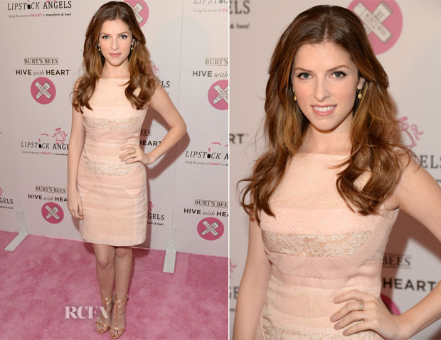 Anna Kendrick In J Mendel - Burt's Bees Launches Hive With Heart Campaign