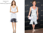 Annabelle Wallis' Preen By Thornton Bregazzi 'Morgan' Dress