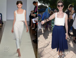 Anne Hathaway In Osman - Miami Walk Of Fame Inauguration