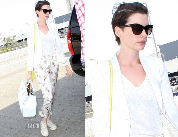 Anne Hathaway In Piamita - LAX