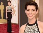 Anne Hathaway In Gucci - Oscars 2014