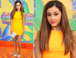 Ariana Grande In Aiisha Ramadan - Nickelodeon Kids' Choice Awards 2014